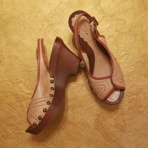 Vince Camuto platform casual shoes.